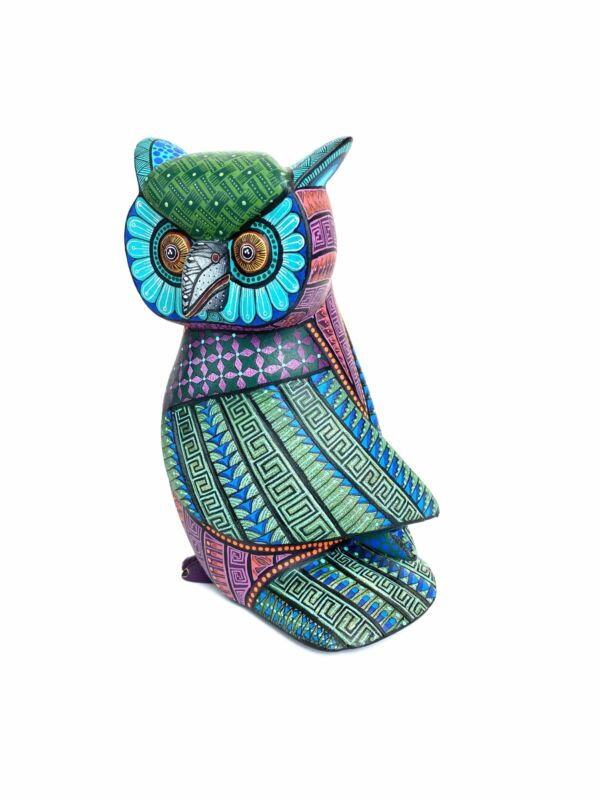 Jacobo and Maria Angeles. Owl #24. Oaxaca, Mexico.