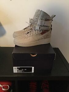 Nike Special Field Air Force 1 Desert Camo Size 8 SF AF1