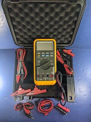 Fluke 88 Automotive Meter Excellent Condition Case Screen Protector