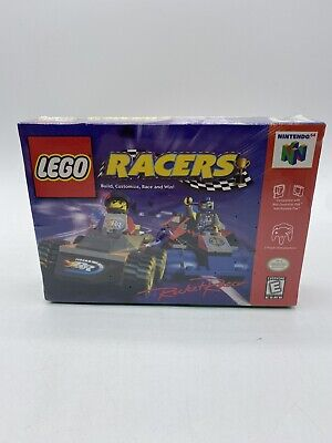 Lego Racers (Nintendo 64, N64 USA Version)(Brand New & Sealed) Damaged In Middle