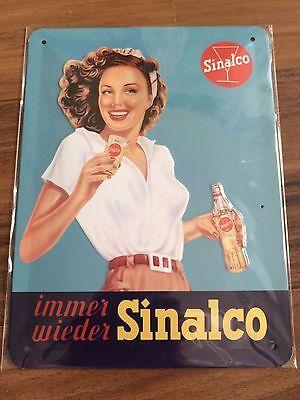 Sinalco Blechschild - 15 cm x 20cm - NEU & OVP - versandkostenfrei