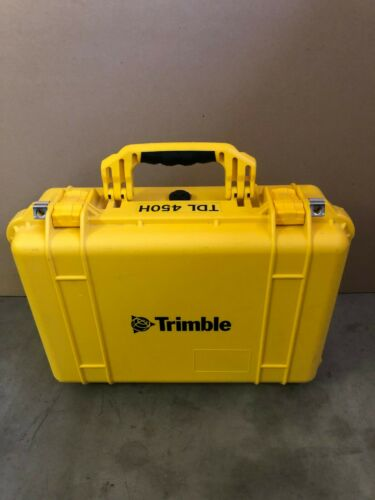 Trimble TDL 450H Pelican Waterproof Equipment Case