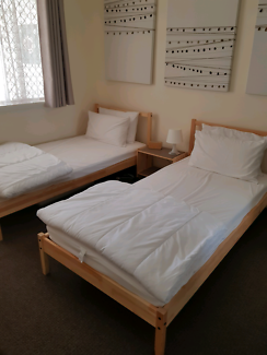 Ikea Single Bed Frame with mattress