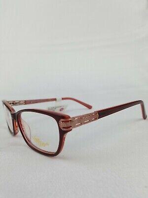 NEW Apple Bottom Jeans Eyeglasses, 54-15-135, Burgundy. NWT (Apple Bottom Eyeglasses)