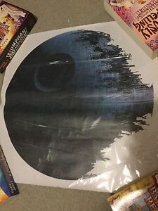 Star Wars Deathstar Wall Cling! Cambridge Kitchener Area image 2