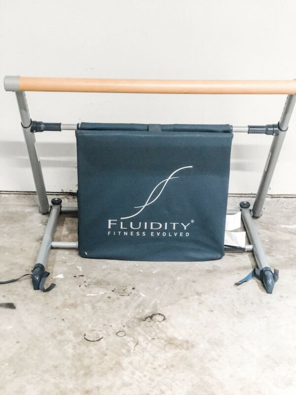 FLUIDITY BAR FITNESS EVOLVED DANCE PILATES EXERCISE BARRE BRAND Used Read Discri