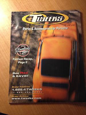 Tweeks Parts and Accessories for Porsche 2003 Catalog 33D #1532