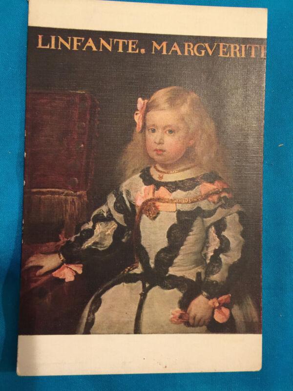 FRANCE PARIS LINFANTE MARIE MARGARITE MUSEE LOUVRE VELAZQUEZ POSTCARD CHILDREN