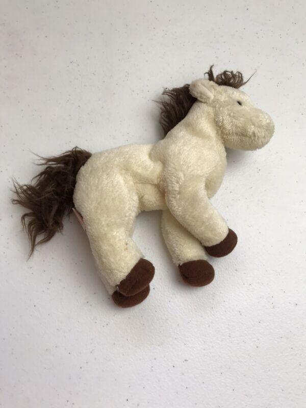 "TY Beanie Babies MARSHALL THE PONY HORSE 6"" Plush STUFFED ANIMAL Toy"