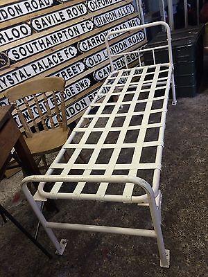 Vintage old Original Prison Cell Bed HMP