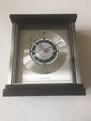 Brand New in Box Bulova B2258 WYNDMERE World Time Tabletop Clock