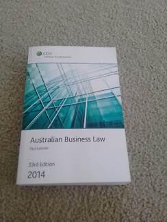Australian Business Law 33rd Edition 2014 - Latimer