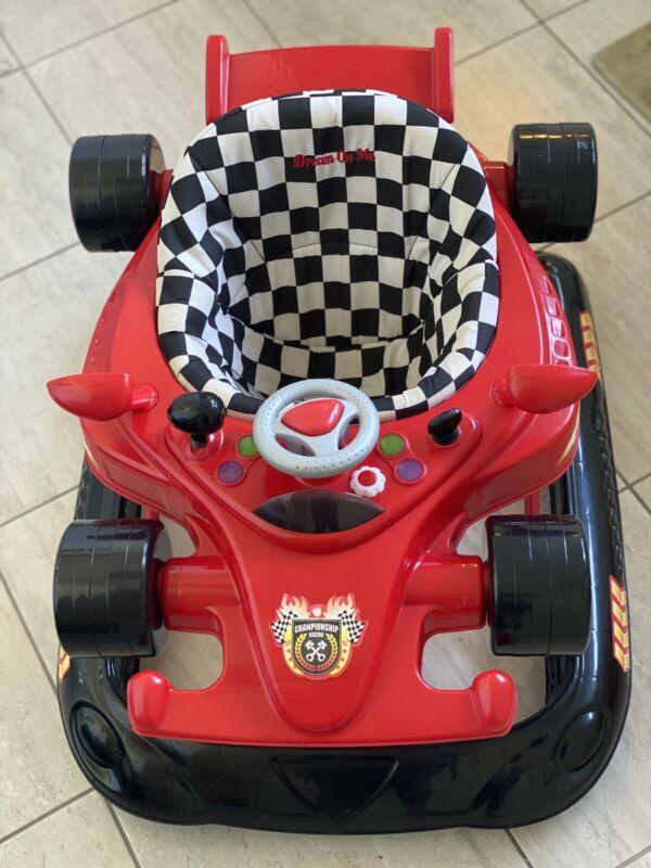 Sport Car Baby Walker Wheels Kids Toy Learning Assistant