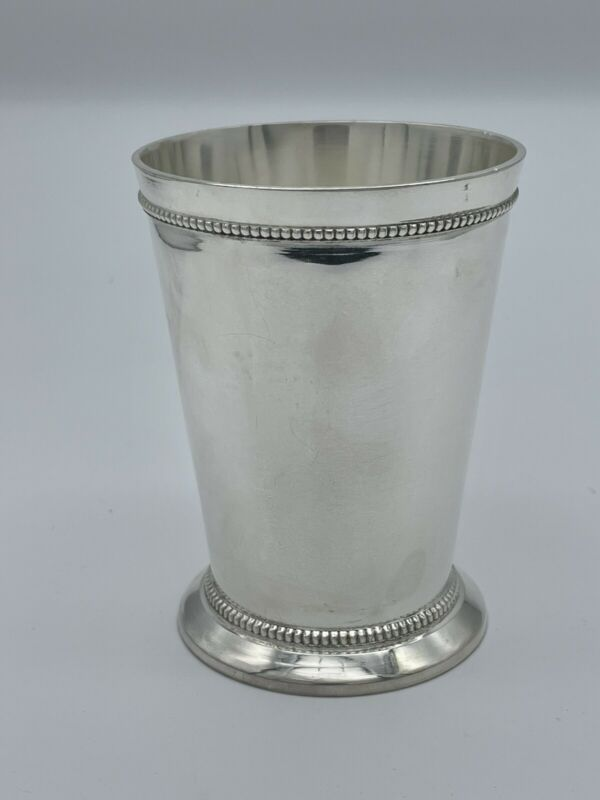 Weighted Mint Julep Cup