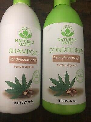 Nature's Gate Nourishing Hemp + Argan Oil Shampoo & Conditioner - 18 fl oz Hemp Nourishing Conditioner