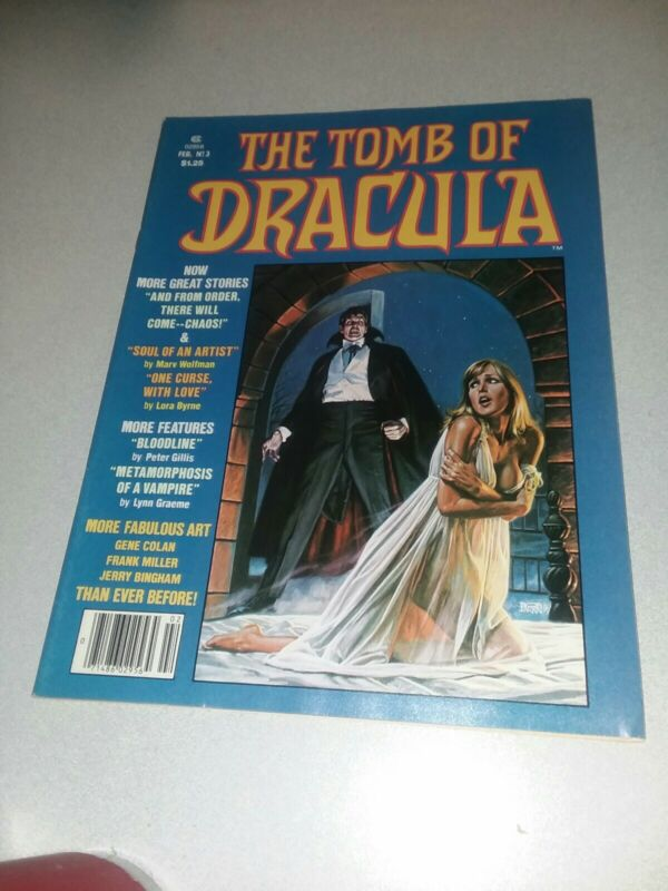 Tomb of Dracula (Magazine) #2 marvel comics 1980 bronze age horror movie reviews