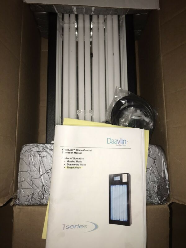 Daavlin1 Series NV UVB with Digital Timer |Phototherapy Unit *Unused