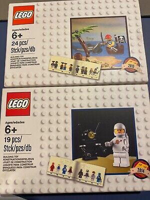 LEGO 5002812 Classic Spaceman; 5003082 Pirate Factory Sealed!