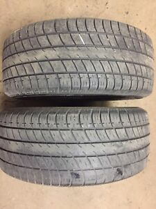 225/50 R16 Uniroyal Tiger Paw Touring pair of tires for sale