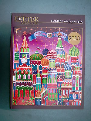 EXETER INTERNATIONAL 2008 EUROPE  & RUSSIA BROCHURE COVER BY YURI GORBACHEV