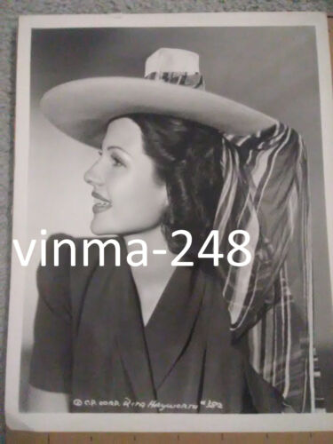 Rita Hayworth Photo 8x10 B/W