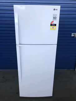 Fridge/freezer - LG 407L frost free (Delivery Available)