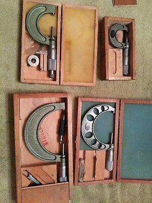 German Metric Micrometer Set Vw Volkswagen Dealer Tools Helios Kunkel 0-100mm