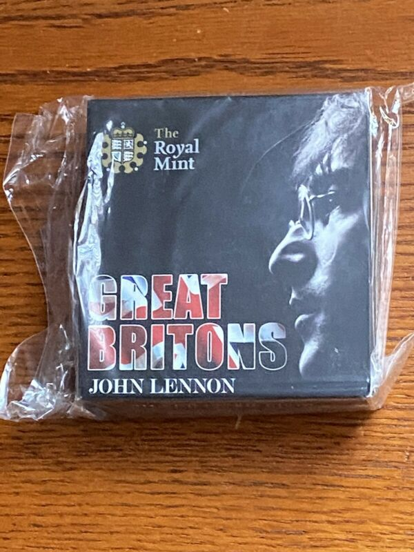 John Lennon £5 .925 Silver 28.28g PROOF Coin (5,000 Minted)