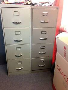 Metal office filing cabinets Hornsby Hornsby Area Preview