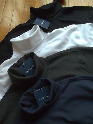 NWT  Mens 100% Cotton Croft & Barrow Full Turtleneck L/S Shirt