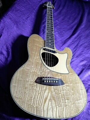 Ibanez Talman Series TCM50 Acoustic Electric Guitar with Figured Ash Top -Mint!!