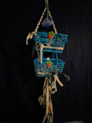 Sugar Glider Climbing blue ball pit Cage Toy blankets pom pom baskets double @@