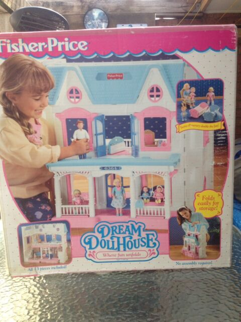 Fisher Price Vintage 1995 Dream Dollhouse Toys Indoor Gumtree