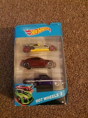 2013 Hot Wheels 3 Pack