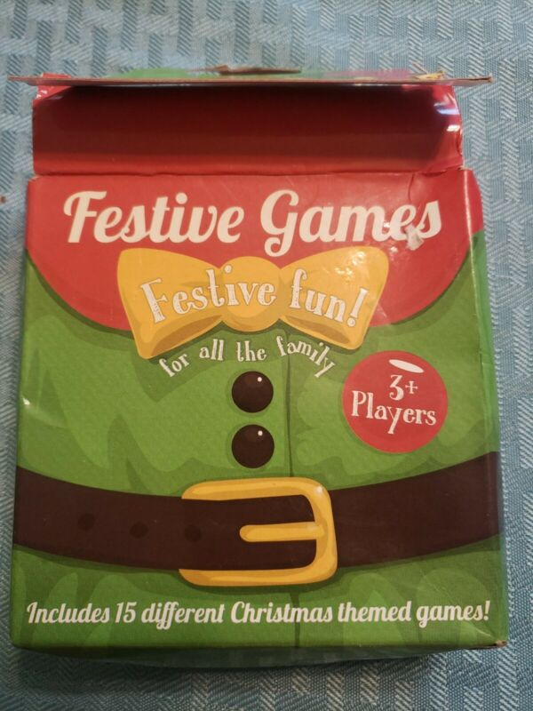 Festive Christmas Games Family After Dinner Tabletop Party Fun Stocking Filler