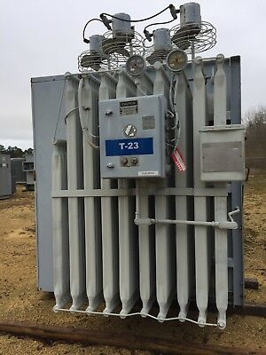 Ge Substation Transformer 2500 3125 3500 Kva Primary 13200 Taps Sec 480y277