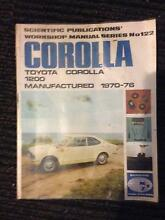 Toyota Corolla******1970-76 workshop manual Kenmore Brisbane North West Preview