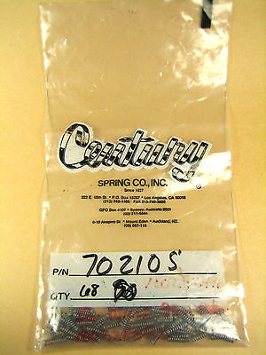 Century Spring Co 70210s Compression Spring Lot Of 68