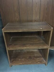 Brown Shelving Unit