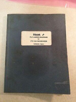 Mazak Plc Ladder Diagrams For Vtc-16a16b20b M32bversion Vq-03