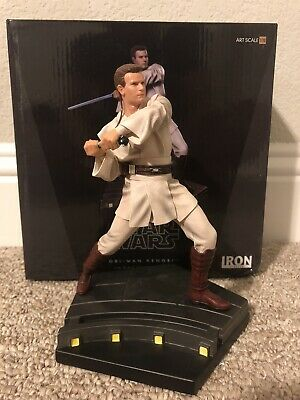 Iron Studios Obi Wan Kenobi Star Wars Phantom Menace 1/10 Statue
