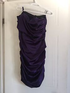 Belle robe mauve L (BAL/MARRIAGE..) à vendre