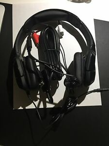 Black Tritton Headphones