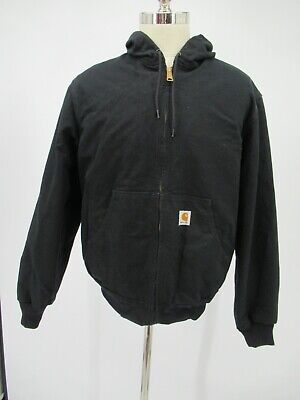 L6169 VTG Men's Carhartt Thermal-Lined Active Duck Jacket Made In USA Size S