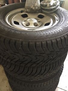 Dodge Truck Snow Tires On Rims