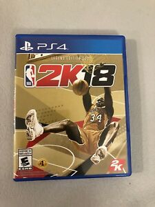 NBA 2k18 Legend Gold Edition PS4