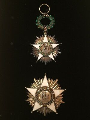 Liberia,Republic,Order Of African Redemption Grand Commanders Set Of Insignia(2)