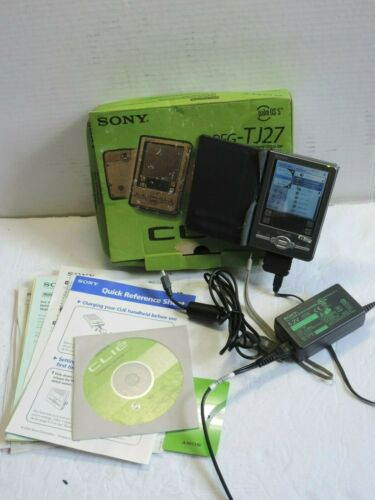 Sony Clie PEG-TJ27 Handheld PDA ***Battery can