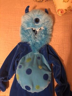 KOALA KIDS BLUE ONE EYED CYCLOPS MONSTER PLUSH HALLOWEEN COSTUME 18 Month