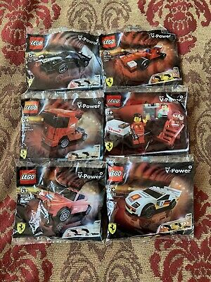 Lego Shell V Power Ferrari Toys Rare
